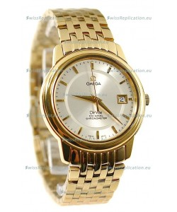 Omega Co-Axial Deville Japanese Gold Watch