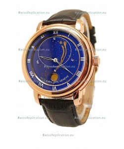 Patek Philippe Grand Complications Japanese Watch in Blue Dial