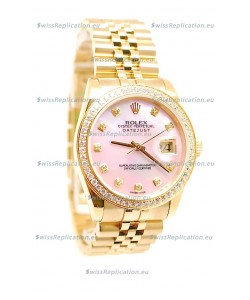 Rolex Datejust 2011 Edition Japanese Replica Gold Watch