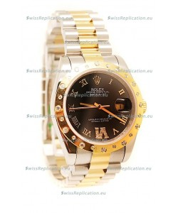 Rolex DateJust Mid-Sized Gold Japanese Replica Watch