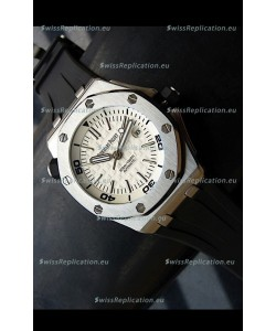 Audemars Piguet Scuba Japanese Replica Watch White Dial