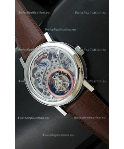Breguet 4199 Swiss Watch in Skeleton Tourbillon Watch