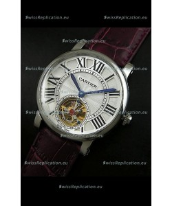 Cartier Ronde de Tourbillon Japanese Replica Watch