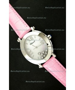 Chopard Happy Sport Ladies Japanese Replica Watch