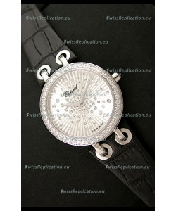 Chopard Xtravaganza Ladies Ladies Japanese Replica Watch in White Dial