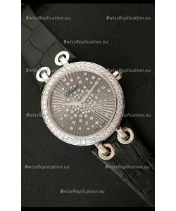 Chopard Xtravaganza Ladies Ladies Japanese Replica Watch in Black Dial