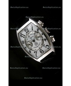 Franck Muller Casa Blanca Japanese Replica Watch in White Dial