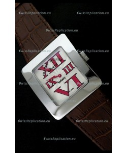 Franck Muller Geneve Infinity Japanese Special Watch in Red Markers