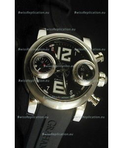 Graham Chronograph Swordfish Swiss Replica Watch in Black Dial