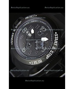 Hamilton Khaki Base Jump DLC Swiss Replica Chronograph Watch
