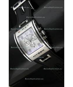 Jorg Hysek X- Ray Japanese Replica Watch in White Dial