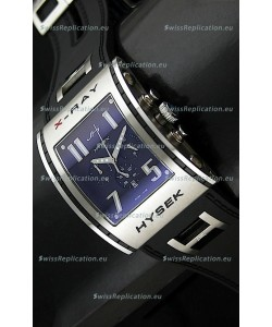 Jorg Hysek X- Ray Japanese Replica Watch in Blue Dial