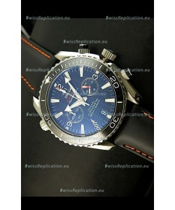 Omega Seamaster The Planet Ocean Japanese Replica Watch in Black