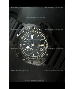 Panerai Luminor Submersible PAM193 Japanese Replica Watch Black Dial