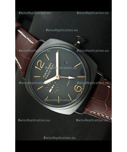 Panerai Radiomir GMT Japanese Replica Watch in PVD Case