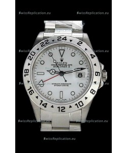 Rolex Explorer II Swiss Replica Automatic Watch in White