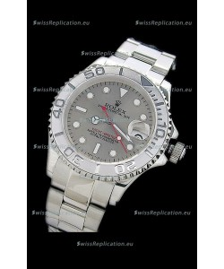 Rolex Yachtmaster Japanese Replica Watch in Silver Dial