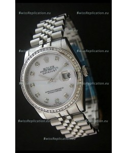 Rolex Datejust Japanese Replica Automatic Watch in White Dial