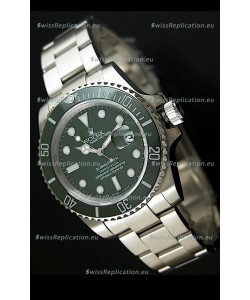 Rolex Submariner Swiss Replica Watch in Stainless Steel - Super Luminous Markers