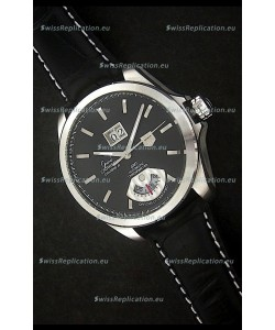 Tag Heuer Grand Carrera Calibre 8 Swiss Automatic Watch in Black