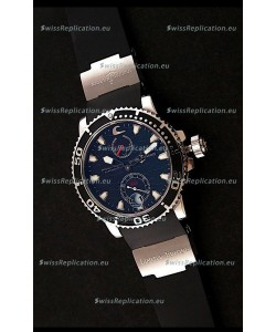 Ulysse Nardin Maxi Marine Diver Swiss Watch in Black Dial