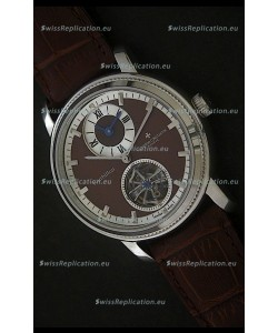 Vacheron Constantin Malte Tourbillon Japanese Watch in Brown Dial