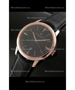 Vacheron Constantin Geneve Automatic Swiss Watch in Black Dial