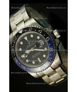 Rolex GMT Masters II Swiss Replica Watch - 1:1 Mirror Replica