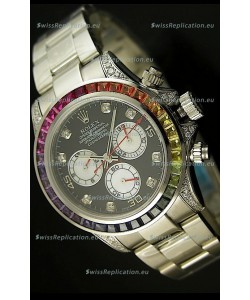 Rolex Replica Daytona Cosmograph Swiss Replica Watch - Sapphires Bezel