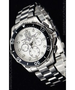 Tag Heuer Aquaracer Chronograph Swiss Quartz White Dial Watch