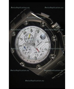 Audemars Piguet Royal Oak Offshore Juan Pablo Montoya Swiss Watch 3120 Movement White Dial - 1:1 Mirror