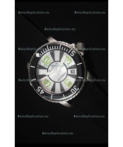 Blancpain 500 Fathoms Swiss Replica Watch in White Dial - 1:1 Mirror Edition