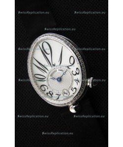 Breguet Reine De Naples Ladies Swiss 1:1 Stainless Steel Mirror Replica Watch