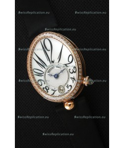 Breguet Reine De Naples Ladies Swiss 1:1 Rose Gold Replica Watch