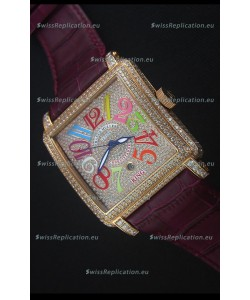 Franck Muller Conquistador King Automatic Crazy Colors Swiss Replica Watch