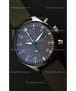 IWC Pilot's Watch Chronograph Top Gun Miramar IW389002 Ceramic Anthracite Dial 1:1 Mirror Replica
