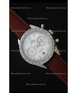 Omega Speedmaster 57 Co-Axial Chronograph Watch in Leather Strap
