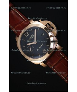Panerai Luminor Marina PAM393 42MM Swiss Rose Gold Replica Watch