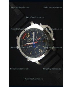 Panerai Luminor Regatta Japanese Replica Watch in Steel Case