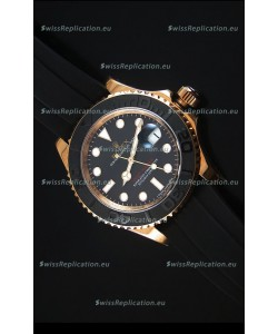 Rolex Yachtmaster 116655 Everose Gold Ceramic 1:1 Ultimate Mirror Replica Watch