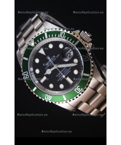 Rolex Submariner 11610LV Green Bezel - The Ultimate Best Edition 2017 Swiss Replica Watch