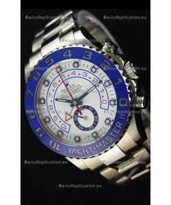 Rolex Yachtmaster II Stainles Steel Ref.116680 1:1 Mirror Replica Watch (Working Stopwatch Edition)