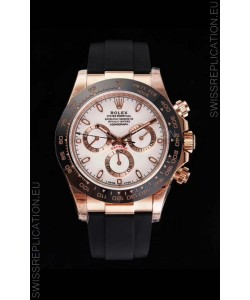 Rolex Daytona 116515LN Everose Gold Original Cal.4130 Movement - 1:1 Mirror 904L Steel Watch