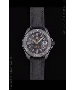 Tag Heuer Aquaracer Calibre 5 Titanium Carbon 41MM 1:1 Mirror Replica Watch