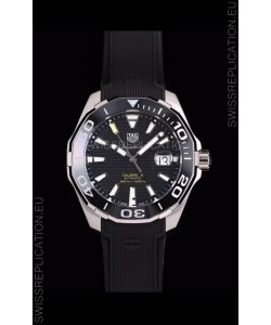 Tag Heuer Aquaracer Calibre 5 1:1 Mirror Replica Watch Black Dial
