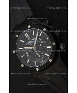 Audemars Piguet Royal Oak Chronograph Black Dial Swiss Replica Watch