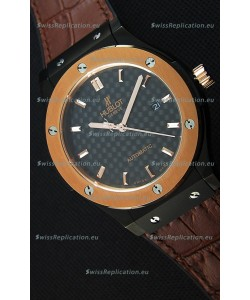 Hublot Classic Fusion Ceramic King Gold Swiss Replica Watch - 1:1 Mirror Replica