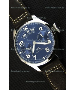 IWC Big Pilot Annual Calender Steel Blue Le Petit Prince Edition 1:1 Mirror Replica
