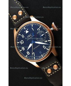 IWC Big Pilot's IW501005 Heritage Swiss Replica Watch - Functional Power Reserve 1:1 Mirror Replica