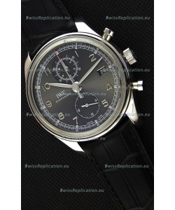 IWC Portugieser Chronograph Classic IW390302 Grey Dial Swiss Replica Watch